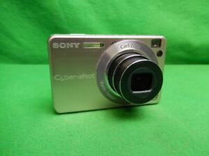 Sony Cyber-shot DSC-W120 7.2MP Digital Camera - Pink w/ Battery & Charger
