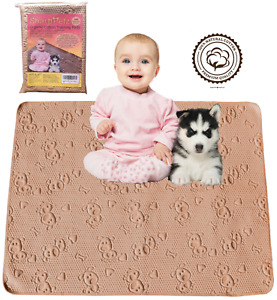 SharpStuff Reusable Washable Organic Cotton Pee Pads for Babies & Toddlers
