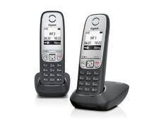 Schwarze Schnurlose Telefon Telefonleitungen 20-Sets