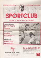 II BL 90/91 SC Freiburg - VfL Osnabrück, 13.04.1991