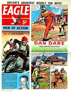 EAGLE - 13th JANUARY 1962 (10 - 16 Jan) RARE 60th BIRTHDAY GIFT !!..beano victor