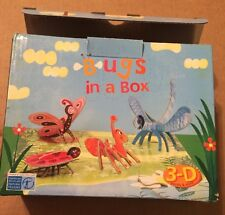 Mudpuppy Bugs In A Box 3-D Puzzles and More