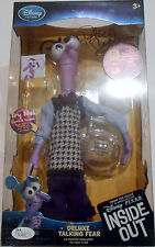Pete Docter Signed Inside Out Toy w/JSA COA M74882 Talking Fear