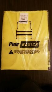 Yellow safety vest XL