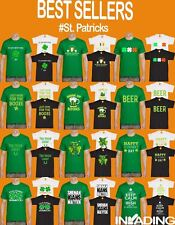 St Patricks Day T-Shirts Mens Irish Paddys Shamrock Ireland Leprechaun TShirt >>