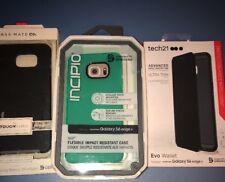 Lot Of 3pc Samsung Galaxy S6 EdgE + Tech21 Case, Casemate Case, Incipio Cover