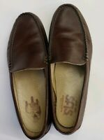 Sas Tripad Comfort Loafers Slip-ons Women' Shoes Size 8.5 M Brown Leather Casual