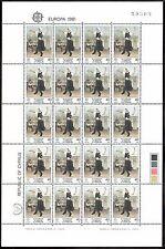 Zypern Kleinbogen Michelnummer 547 - 548 postfrisch (KLBG 1539 )