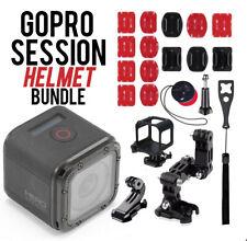 🚨🚨 Refurbished GoPro Hero Session Waterproof Hd Action Camera W/ Helmet Bundle