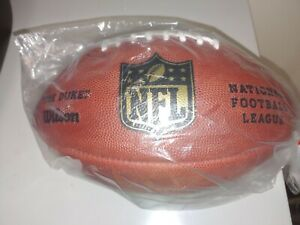 Official Wilson NFL The Duke Football On Field Game Ball Authentic Leather