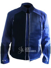 Captain America Steve Rogers Blue Cotton Jacket