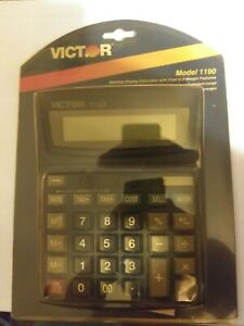 Vintage Victor Jumbo Calculator Model 1190 Brand New