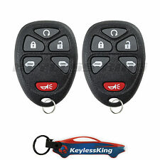 2 Replacement for Chevrolet HHR - 2006 2007 2008 2009 2010 2011 6btn Car Remote