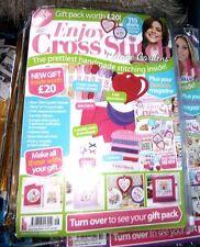Enjoy Cross Stitch Magazine Pack Spring 2015 Issue 13 Cottage Gardens (new)