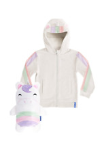 Cubcoats Uki 2-in-1 Stuffed Animal Hoodie - 2yrs - Unicorn