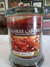 """Yankee Candle Collector Edition """" Bacon"""" 8 oz Jar - New Retired Limited Edition"""