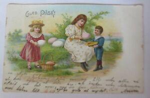 Ostern, Kinder, Mode, Ostereier,   1903 ♥ (51202)