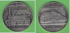Deutsche Eisenbahn 1835-1960 AR(1000)-Med. TEE / Dampflok Adler ca. 19,73 g