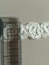 Ivory Stretchy Lace 2cm  99p Metre