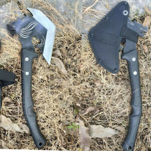 FBIQQ Camping Axe Tomahawk Army Outdoor Hunting Camping Survival Machete Axes