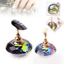 Nail Art False Display Stand Practice Training Tips Holder Magnetic Manicure Set