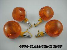 SUZUKI A50 A80 A100 T90 T125 K10 K11 Front & Rear turn signal Winker / 4 pcs NEW