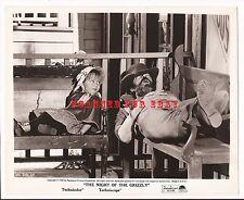 NIGHT OF THE GRIZZLY Press Photo/Movie Still - JACK ELAM VICTORIA MEYERINK #1