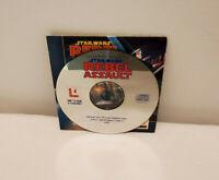 Star Wars: Rebel Assault (PC, 1993) Game disc - Protective Sleeve W/ Artwork IBM
