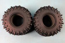 ROCK 2.2 Mud Slinger COMP TIRES rubber tires 123MM FOR RC CRAWLER 4pcs