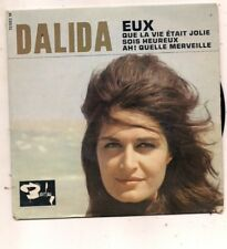 FRENCH EP DALIDA EUX AVEC LANGUETTE