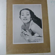 vintage advertise YMA SUMAC exclusively on Capitol, 1950s