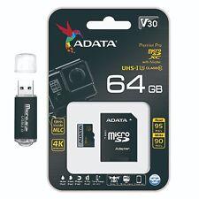 64GB MIcroSDXC Extreme 4K  U3 Ultra HD Pro 64G Micro SD  Memory Card Class 10