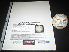 1991 YANKEES OLD TIMERS TEAM (16) SIGNED AUTOGRAPHED OAL BALL RIZZUTO + SGC LOA
