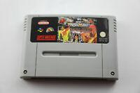 Jeu SUPER WRESTLE MANIA pour Super Nintendo SNES version PAL