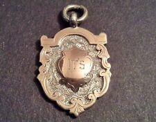 'It'S' Vintage Solid Silver Design Pocket Watch Medal Gold Fronted Nyland 1923