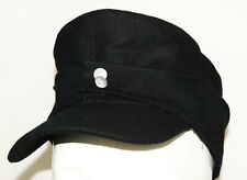 WWII GERMAN WH ELITE EM M43 PANZER WOOL FIELD CAP M-3461