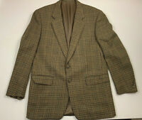 CORNELIANI mens sport coat size 44 R US (54) 2 button browns houndstooth wool