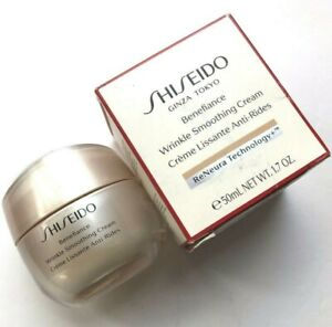 Shiseido Benefiance Wrinkle Smoothing Cream **50mL/1.7oz Sealed in Box**