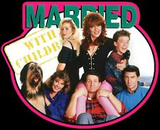 80's TV Comdey Classic Married With Children custom tee Any Size Any Color