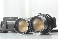 """""""EXC+4"""" Mamiya Sekor 135mm F/4.5 Blue Dot TLR Lens for C220 C330 from Japan #099"""
