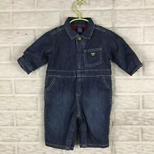 Oshkosh B'gosh Baby Boy Coveralls 3/6 Months Fleece Lined...