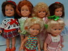1987 Playskool Dolly Surprise Grow Hair dolls with Outfits* 6 Adorable Dolls*