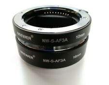 Neewer Automatic Extension Tube Set Sony 10mm 16mm Ref: F304B