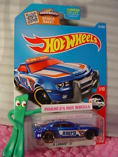 '10 CAMARO SS #211✰New Blue;Red;HIGHWAY PATROL✰RESCUE✰2016 Hot Wheels Case p/q