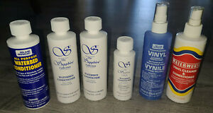 28 oz Blue Magic & Sapphire Waterbed Conditioner and 16 oz Vinyl Cleaner