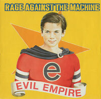 Rage Against The Machine CD Evil Empire - Europe (EX/M)