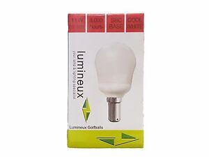 Lumineux 11w Golfball Bulb Cool White (241611)