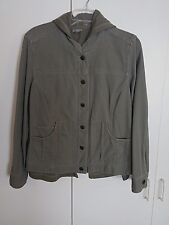 J.JILL LADIES SPRING JACKET w/REMOVABLE HOODIE SWEATSHIRT-S-GENTLY WORN-NICE