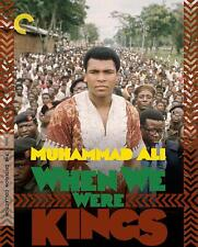 WHEN WE WERE KINGS BLU-RAY | THE CRITERION COLLECTION | MUHAMMAD ALI