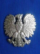 Orzełek metalowy od czapki Milicja Poland - PRL